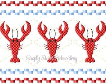 Lobster Faux Smocking Design