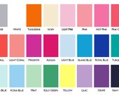 Ribbon Samples - choose up to 6 - write colors under 'note to seller' when checking out.