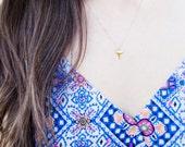 Gold Shark Tooth Necklace | Gold Shark Tooth Necklace | Shark Tooth Necklace