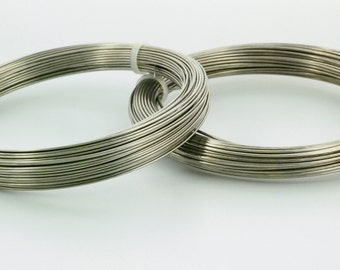 Spring Hard Stainless Steel Wire - Premium Jewelry Grade - Select 16, 18 or 20 gauge - 100% Guarantee