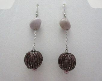 Purple Stones & Beads