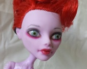 Repainted Custom Monster High Doll OOAK - Repaint, Upcycled, Fantasy, Art Doll For Collectors/Display