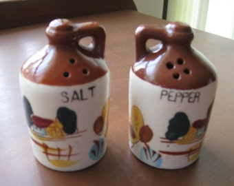 Moonshine Jugs Salt and Pepper Shaker Set