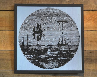 Ship Mirage Screen Print