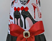 Dog Harness Vest - Shoes and Sunglasses with Bling Upgrade