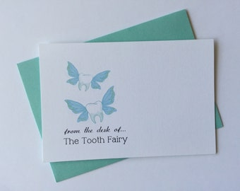 Tooth Fairy Note Card - Set of 12