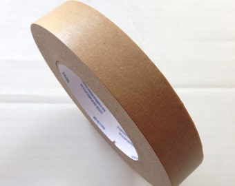 "Kraft Masking Tape 1"" x 60 yards Paper Kraft Tape Packing Tape"