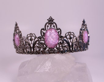 SALE!! Opal Renaissance Tiara Tudor Medieval Crown Game of Thrones Tudor Filigree Fantasy