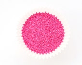 Pink Nonpareils, Pink Cookie Sprinkles, Pink Nonpareil Sprinkles, Cake Pop Sprinkles, Bright Pink Nonpareils (2 ounces)