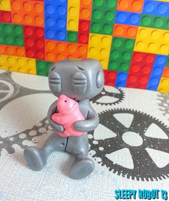 I LUV U PIG Robot