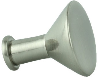 10 diy knob bases flat top stems chrome or brushed nickel make your own drawer pulls