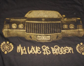 T-Shirt - My Love (Gold on Black)
