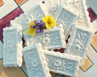 Kandern Rose and Lily of the Valley Springerle or Confection Molds