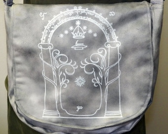 Moria Inspired Satchel Made to Order