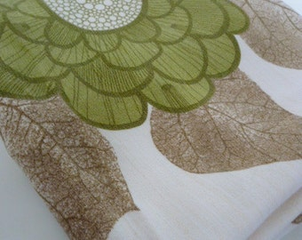 FLOWER POP vintage fabric  sale 30%off listed price