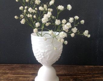 Vintage Milk Glass Egg Cup