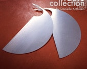 CUSTOM LISTING for Sally Parnis - Blade Stainless Steel Earrings - Haiku Collection by Danielle Kathleen