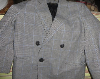 vintage  boys  wool  suit blazer and trousers Christian Dior   jeune homme sports