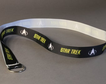Simple Star Trek Lanyard