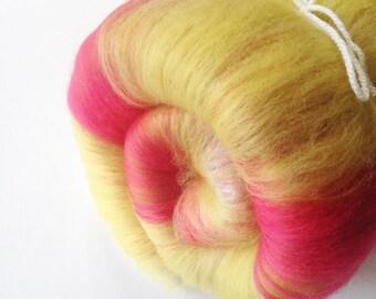 Spinning Fibre - Fruit Salad Mini Art Batt - Merino Wool - Batt for Spinning