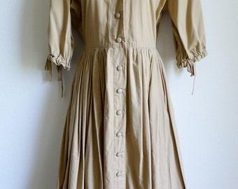 Beretta Mediane front fastening cotton dress