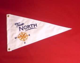 Boat Flags Nautical Boat Name and graphic 12x18 inch