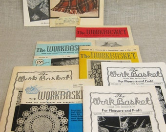 Craft Instruction Books, Crochet , Needle Craft , Directions , Craft Projects , Mid-Century , Booklets , Collection ,Embroidery ,Knitting