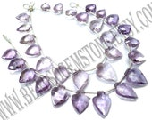 Pink Amethyst Faceted Arrow (Quality A+) / 9x11 to 13x17 mm / 13 to 15 Grms / 18 cm / AMETHY*-042