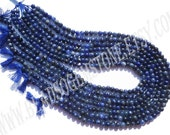 Sodalite Smooth Round (Quality B) / 4.5 to 5.5 mm / 9 to 11 Grms / 36 cm / SOD-018