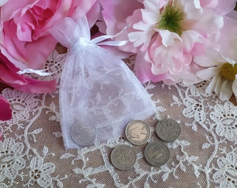 Wedding Sixpence, Wedding Gift, Wedding Token