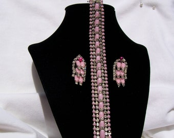 Jewelry, Kramer, Kramer of New York Bracelet and Clip Earrings