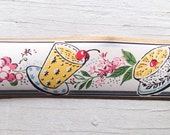 SALE- Vintage Trimz Wallpaper Border - Retro 50s Breakfast by Meyercord