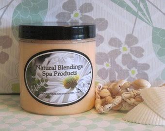 SUMMER NECTARINE  Whipped Body Parfait Natural Blendings Most Popular Product in a Brand New Fragrance Made to Order 8 OZ Jar