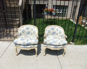 Petite Shabby Chic French Chairs 72 Hour Hold for Shelly