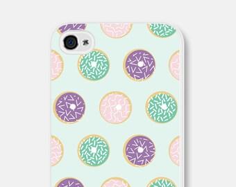 Doughnut Phone Case - Doughnut iPhone 6 Case - Donut iPhone 5 Case - iPhone Case - Mint Green Phone Case - Doughnut Samsung Galaxy S5 Case