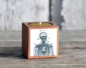 Medical Candleblock: No. 1, Cobblestone Skeleton Fig. 2 - by Peg and Awl