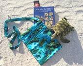 Sea Turtle Book/Nook/Kindle/iPad Bag