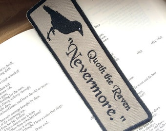 Poe, The Raven, Nevermore Bookmark