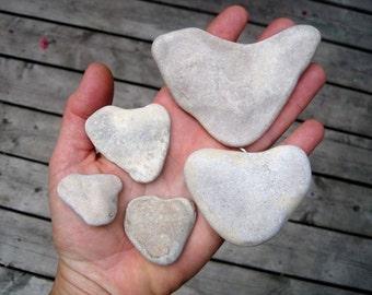 Stone Heart Shaped Stones - Natural Heart Rocks