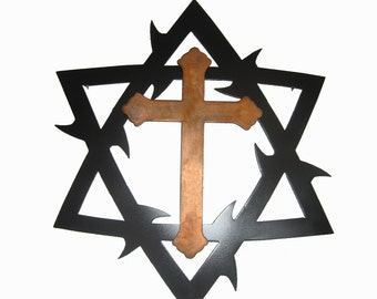 Star of David with Crown of Thorns