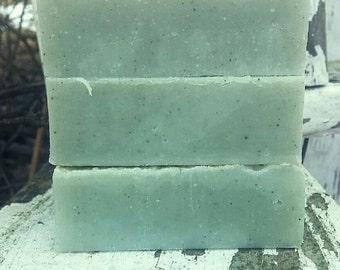 Cambrian Blue Clay Soap - Russian Lemon - Spa Treatment Bar