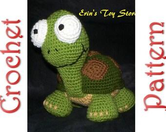 Murtle the Turtle a Crochet Pattern by Erin Scull
