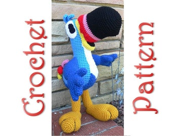 Toucan Sam A Crochet Pattern by Erin Scull
