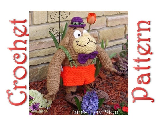 Al Gorilla a Crochet Pattern by Erin Scull