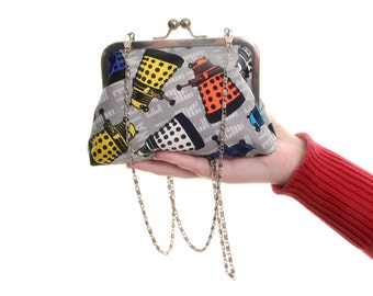 Daleks Doctor Who Evening Bag Purse and Clutch In One
