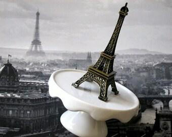 Eiffel Tower Ring Dish Eiffel Tower Trinket Dish Ring Dish Paris Party Favor Je t'aime Francophile Eiffel Tower Paris France Romantic Gift