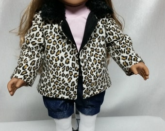 Urban Trendy 6 Piece Outfit for American Girl Doll