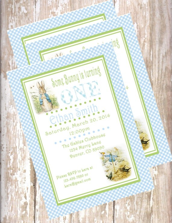 Peter birthday printable pdf invitations bunny easter 1st birthday il570xn filmwisefo