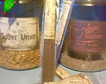 Dragons Blood Incense - 20 Sticks - Hand Dipped, Strongly Soaked Heavily Scented Stick Incense