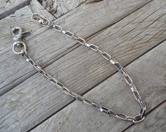 Wallet chain, chrome plated
